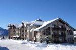 Black Bear lodge winter Crested Butte