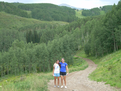 hiking in crested butte colofado