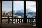 master bedroom view Crested Butte Colorado Black Bear