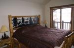 master bedroom Black Bear Lodge Crested Butte Colorado
